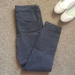 Grey Ankle Dress Pants